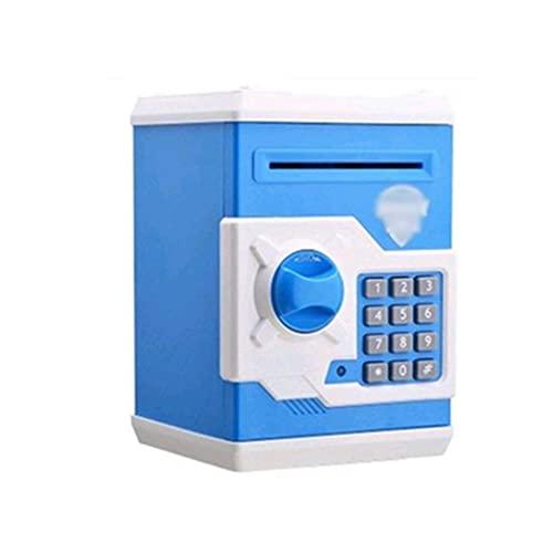 QWEA, alcancía automática, cajero automático, contraseña, Caja de Efectivo, Caja de depósito de Monedas, Caja Fuerte de Banco, Billetes, Regalo de cumpleaños para niños