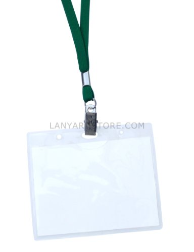 Badge Holders – Standard Clear 4.5 inch by 3.5 inch (Qty. 100)