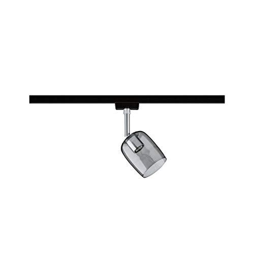 URail Spot Blossom max 1x10W G9 Schwarz matt/Rauchglas 230V Metall/Glas Schwarz/Matt Rauchglas max. 1x10W GU10 ohne Leuchtmittel 969.67