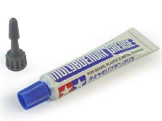 【 モリブデングリス 10g 】 タミヤ メイクアップ材 TM022/ 樹脂を痛めないのでモーターで動くプラスチックモデルや工作に タミヤ