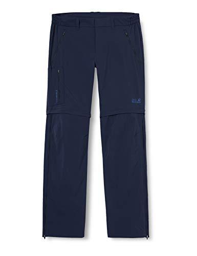 Jack Wolfskin Overland Zip Away Pantalon Men Homme, Night Blue, FR : M (Taille Fabricant : 48)