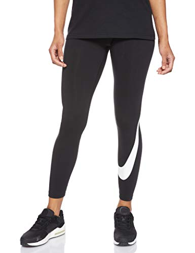 Nike Damen Sportswear Leg-A-See Leggings, Black/White, S