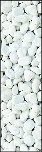 ABC Tappeti Alfombra Vinyl Bw06 Pebbles Barro 50 x 180 cm
