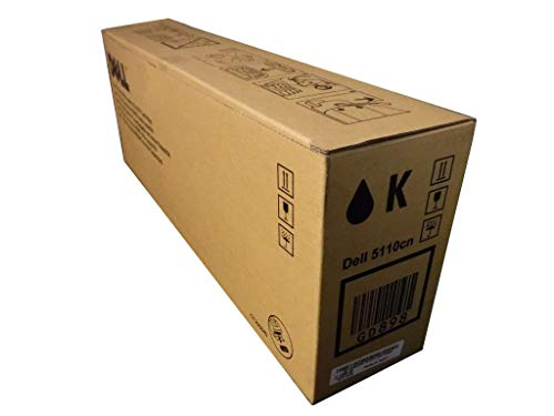 Dell GD898 High Capacity Black Toner Cartridge (Yield 18,000 Pages) for Dell 5110cn Colour Laser Printers