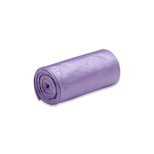 Mdsfe vuilniszakken, unieke kleur, dik, praktisch, milieuvriendelijk, afvalzakken van kunststof, klein, afvalzakken - violet, A5