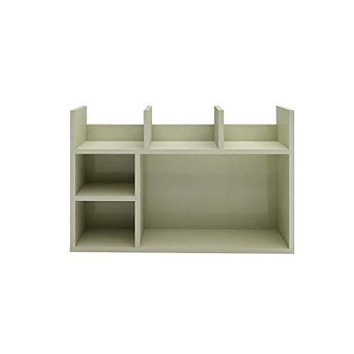 Qi Peng Boekenplank - Eenvoudige slaapkamer Multi-verdiepingen kantoor Kleine boekenkast Vensterbank Afwerking desktop Multi-functie kleine boekenkast