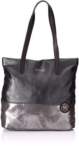 MUSTANG Damen Bennsville Macy Shopper Lvz Tote, Schwarz (Black), 14x32x41 cm