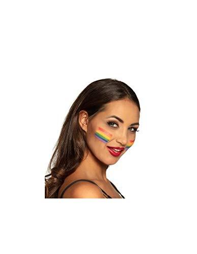 DISBACANAL Maquillaje arcoíris Multicolor