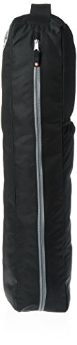 Manduka Go Light Full Zip Yoga Mat Carrier Bag with Adjustable Strap, 29 x 5 x 5, Black