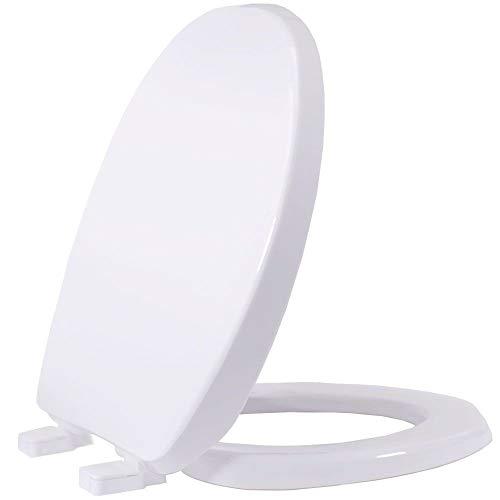 Assento Sanitário Pp Universal Oval Tupan Soft Close Branco