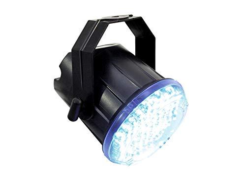 EUROLITE LED Techno Strobe 250 Sound | Kompaktes Stroboskop mit 74 x 10-mm-LED und einstellbarer Blitzfrequenz