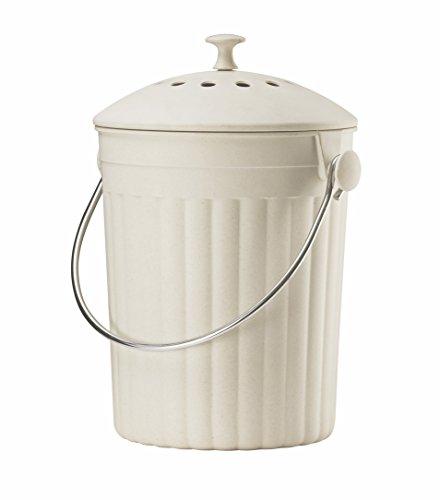 Eddingtons–Eco Cubo para Compost filtros de Caddy Plus–Crema