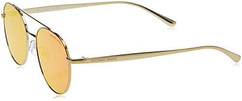 Michael Kors LON Gafas de sol, Gold/Tone 11686Q, 53 Unisex-Adulto