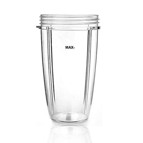 Wadoy Ersatzteile Becher für Nutribullet 600 und 900 Watt, 32 OZ Kleine Tasse, Cup Entsafter Zubehör für NUTRIBULLET Blender Entsafter