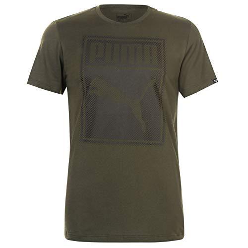 Puma - Camiseta - para hombre Nacht im Wald XL