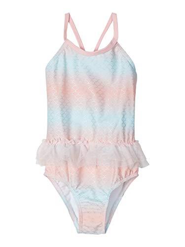 NAME IT Girl Badeanzug Print Ombre 74/80Dream Blue