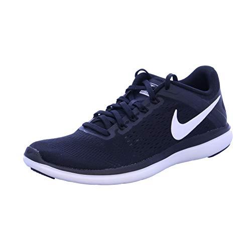 Nike Women's Flex 2016 RN Running Shoe, Black/White/Cool Grey, 5 B(M) US