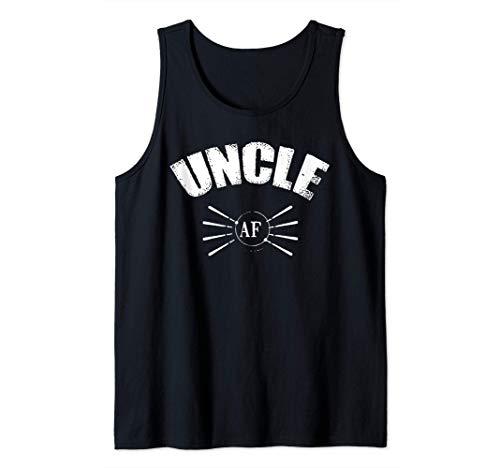 Hombre Tío AF Divertido Tío regalos de sobrino sobrina Camiseta sin Mangas