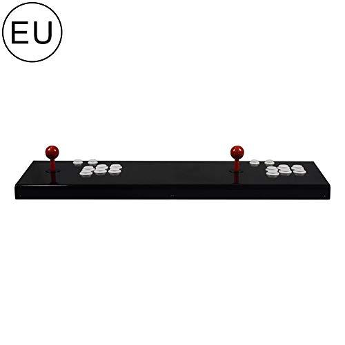 Pandoras Box Arcade - Consola de juegos 3D, juego Arcade Joystick Game, contiene 2363 juegos de alta definición, control de vídeo HD1080 para 2 jugadores, HDMI, VGA, USB negro Negro