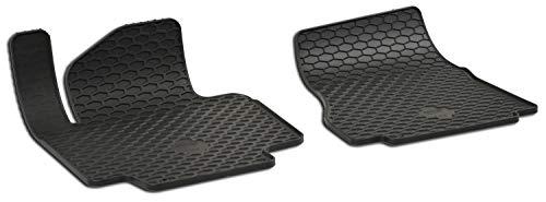 Walser passgenaue Gummimatten kompatibel mit Nissan NV200 BJ 2010-Heute, Gummi Automatten, Fußmatten, Antirutschmatten