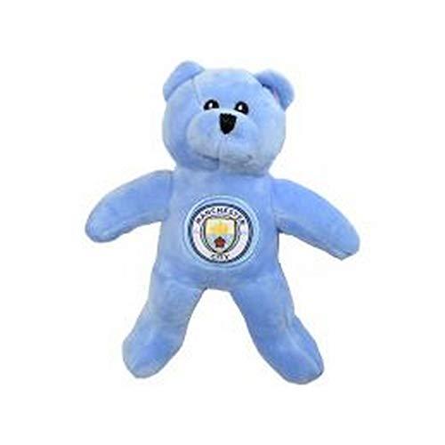 Manchester City FC Orsacchiotto Peluche Ufficiale Con Stemma (Taglia unica) (Blu)