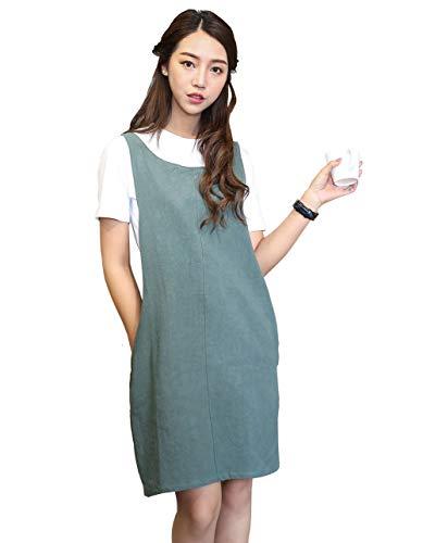 weiche Baumwolle Leinen Schürze Farbe Halfter Kreuz Bandage Schürzen japanischen Stil, X Form Küche Kochen Kleidung Geschenk für Frauen Chef Einzugs armee-grün
