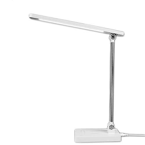 ZCCLCH Toque de luz de lectura,lámpara de lectura dormitorio,la escritura de la lámpara,multi-ángulo LED lámpara de mesa,lámpara Dask Estudiante,inductivo de carga inalámbrica Lados Estudio Luz Protec