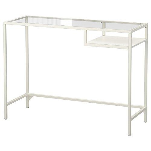 Ikea VITTSJÖ - Laptop-Tisch Weiß/Glas