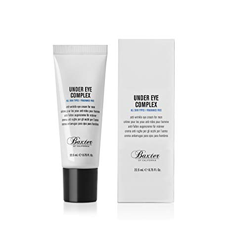 Baxter of California Under Eye Cream for Men | Depuffing and Line Reducing | Unscented | 0.75...