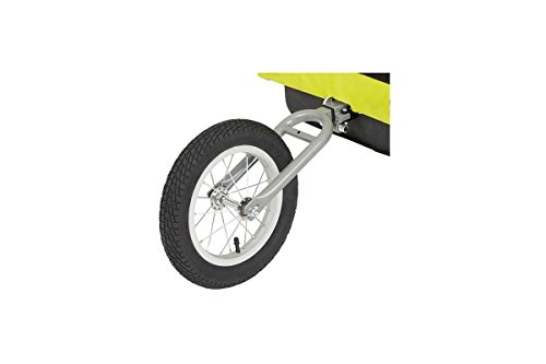 Why Choose Blue Bird Swivelrad Rotatable Bicycle Trailer, Unisex, 61001900, Black, für Anhänger 65931