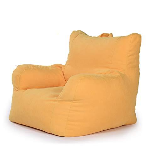 SD Fauteuil Bean Bag Chaise Canapé avec Mousse Ultra Confortable avec Fermeture Éclair A des Poches Latérales pour Enfants Et Adultes