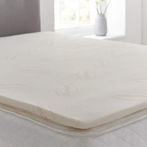 Silentnight Impress 2.5 cm Memory Foam Mattress Topper, Double