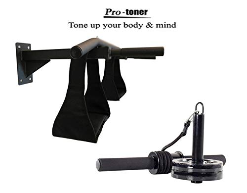 Protoner Chin up Bar Wrist Roller Combo