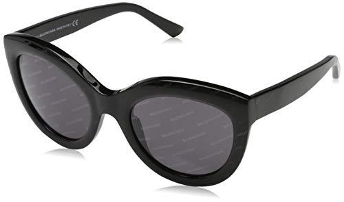 Balenciaga Sunglasses Ba0133 05A-54-22-140 Gafas de sol, Negro (Schwarz), 54 para Mujer