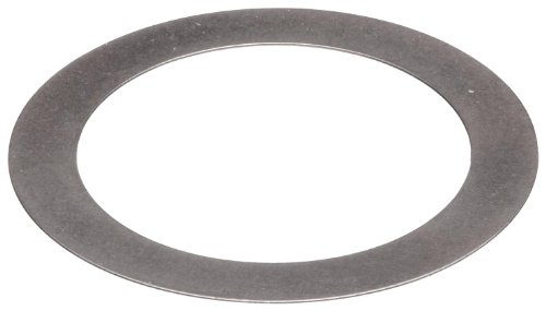 1095 Spring Steel Round Shim, Matte Finish, Spring Temper, MIL-S-7947, 0.005