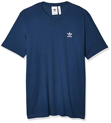 adidas Mens Essential T-Shirt, Night Marine, L