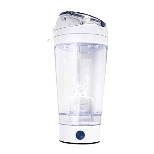 llio 450ml batidora de proteína eléctrica Taza batidora Botella Bebida licuadora de Polvo de Gimnasio