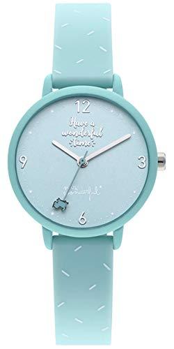 Mr wonderful Happy Hour Reloj para Mujer Analógico de Cuarzo con Brazalete de Silicona WR35200