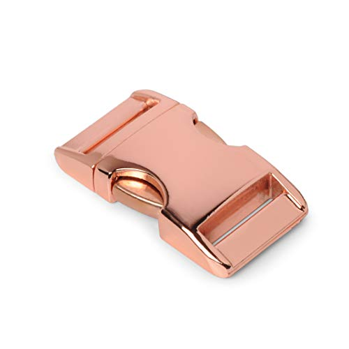 Metalen kliksluiting aluminium maxx, set van 8, 3/4