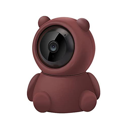 PDFF Monitor para Bebés 1080P HD, Vigilancia con Cámara Inalámbrica de Seguridad para el Hogar Inteligente, Visión Nocturna, Conversación Bidireccional, Visión Panorámica de 360 °