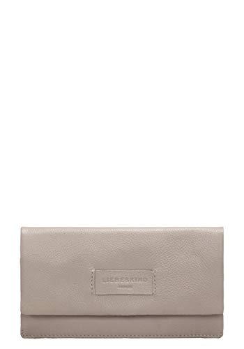 Liebeskind Berlin Damen Essential Slam Wallet Large Geldbörse, Grau (String Grey), 2x10x19 cm