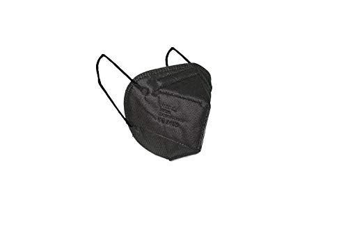MASCHERINE VENETE 20 einzeln verpackte FFP2-Masken (Schwarz)