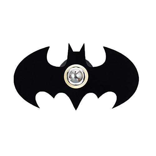 Applique murale créative Batman Shadow Projection Lumières LED Veilleuses Ambiance romantique Spotlights Home Baby Maternelle Chambre Décor (Batman)