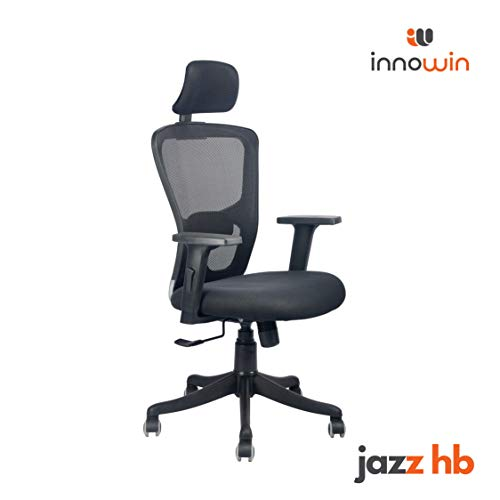 INNOWIN Jazz High Back Mesh Chair with wheels for Office and Home