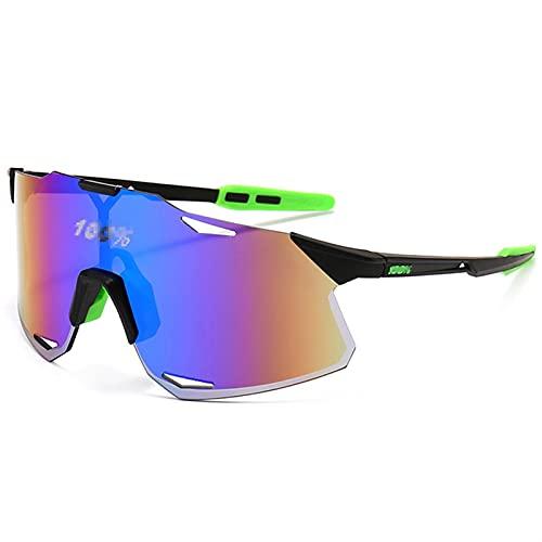 cyg Gafas De Ciclismo, Europa Y America Gafas De Sol Deportivas Sin Marco Gafas De Bicicleta para Hombres Mujeres Ciclismo Gafas (Color : I)
