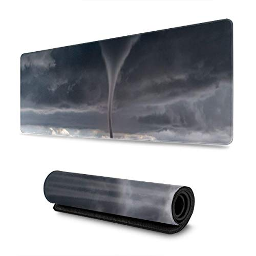 Tornado Day Storm Chaser Großes Mauspad Tastatur Pad Langes erweitertes Mehrzweck-Computerspiel Mausmatte