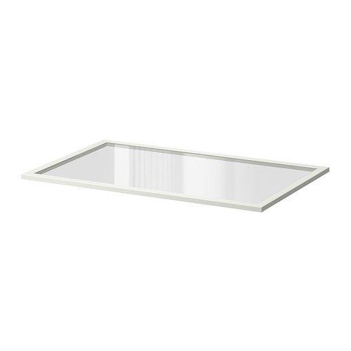 Ikea KOMPLEMENT Glaseinlegeboden in weiß; (100x58cm)