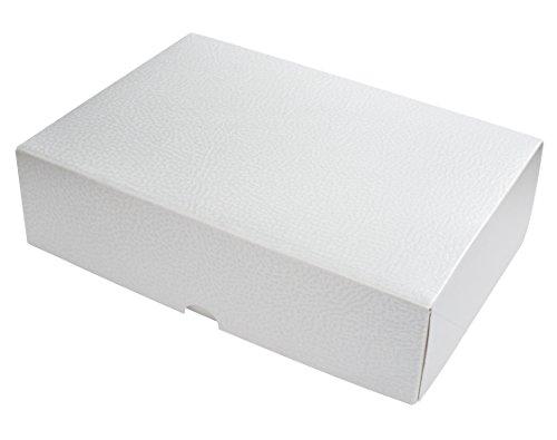 Lenzpaper G3 Geschenkkarton 10-er Packung, wei, weiss