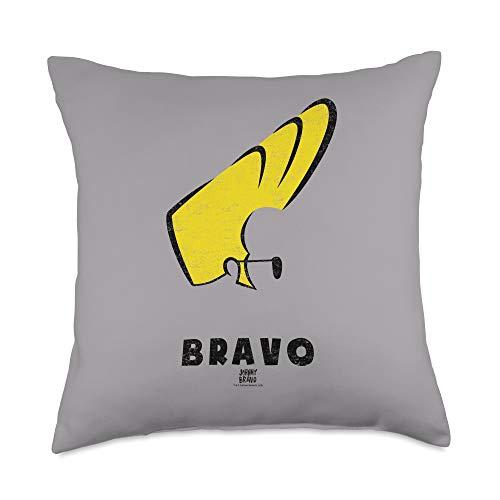 Johnny Bravo Johnny Hair Throw Pillow, 18x18, Multicolor