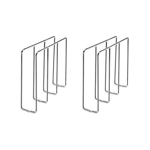 Rev-A-Shelf 596-10CR-52 Chrome U-Shaped Bakeware Cabinet Organizer (2 Pack)